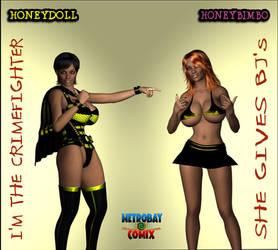 Honeydoll Honeybimbo Im the DJ by WikkidLester
