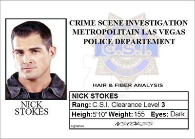 By Card Vegas Deviantart Stokes Nick Csi Moviecard Las On