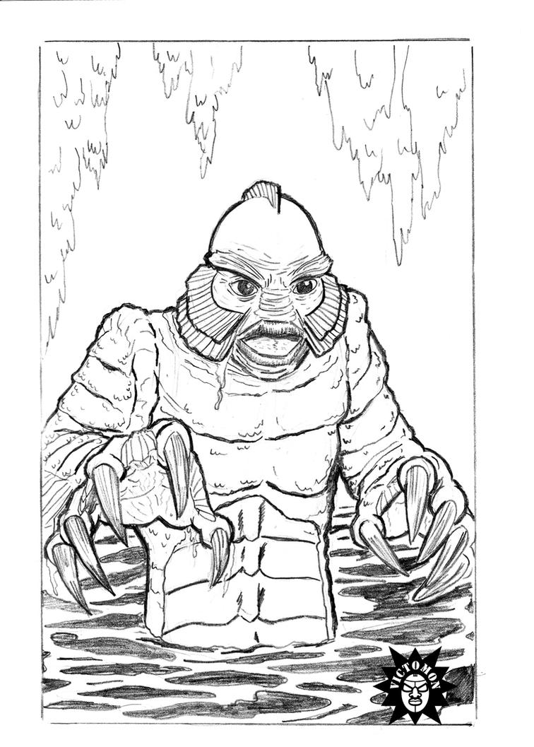 black lagoon coloring pages - photo#28