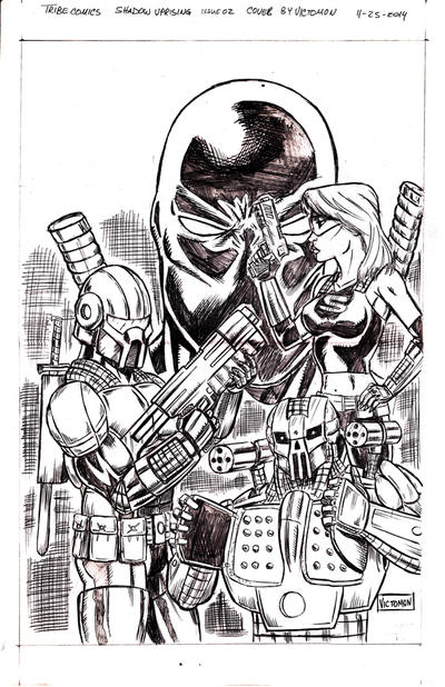 Shadow Uprising Cover issue 2 by victomon