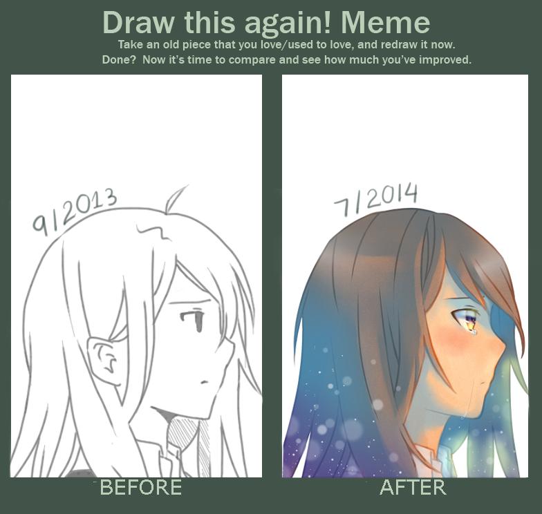 Draw this again meme by blackrainbow2304