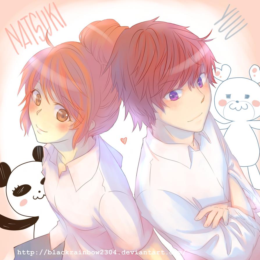 Natsuki x Yuu by blackrainbow2304
