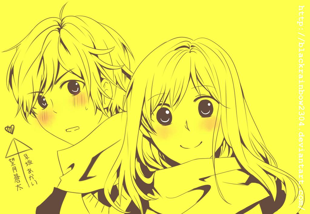 Machita And Akari by blackrainbow2304