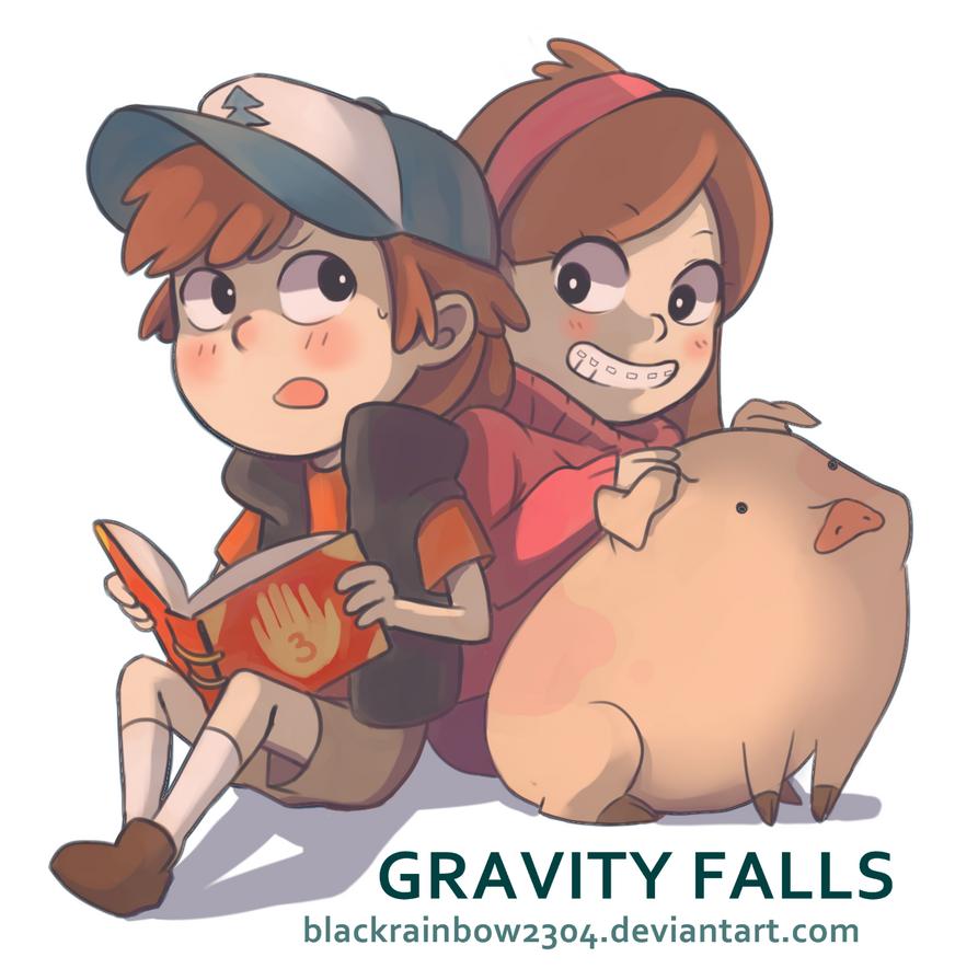 Gravity Falls by blackrainbow2304