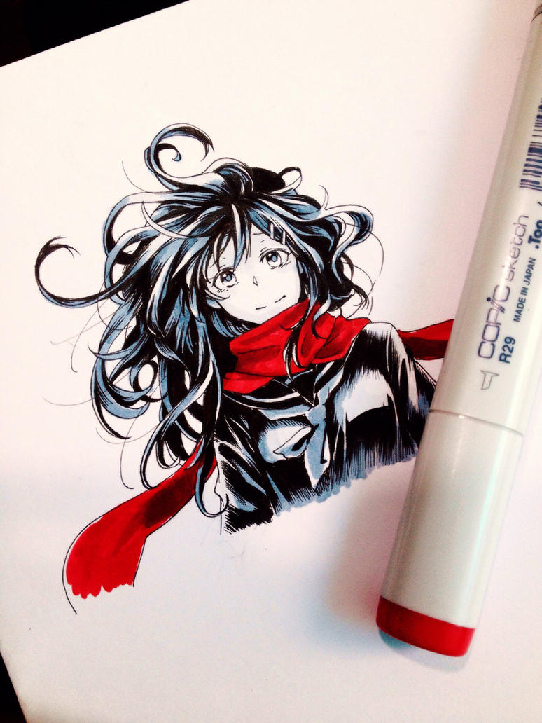 Ayano (KP) by blackrainbow2304