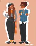 Roxxanne and Fred II Weasley
