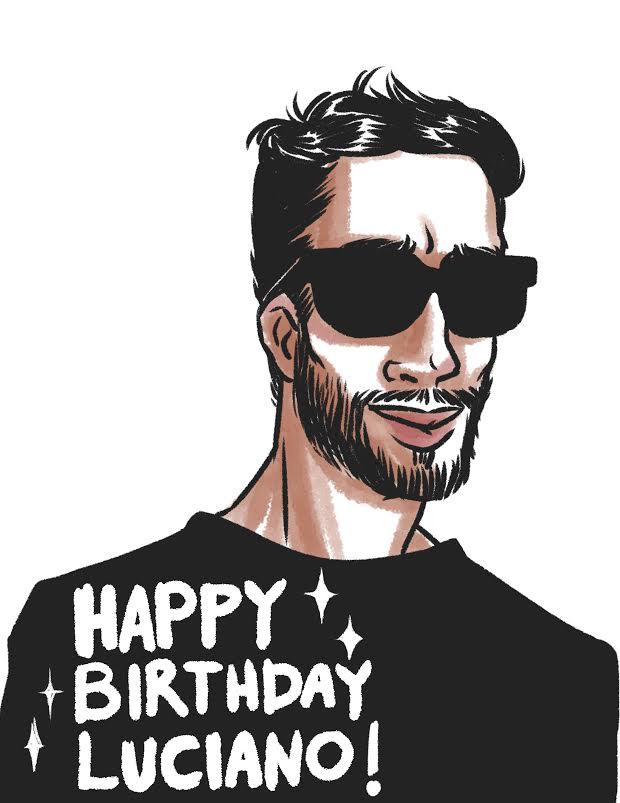 Happy Birthday Luciano by SakariSingh