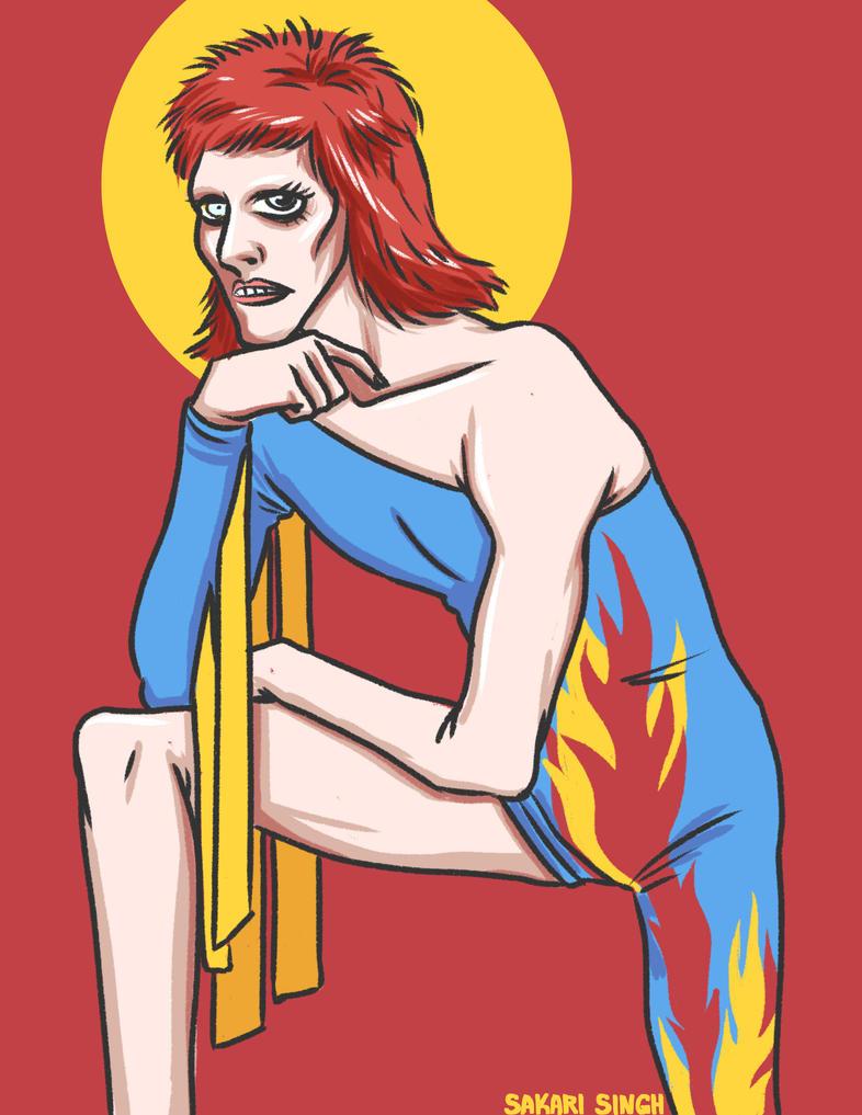 Bowie by SakariSingh