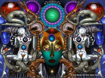 006 ARTIST Rica Barba 2015 TITLE HYBRID HUMANOID