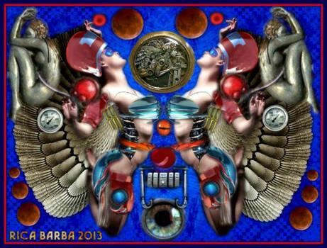 011 ARTIST Rica Barba 2015 TITLE RETROFUTURISTIC