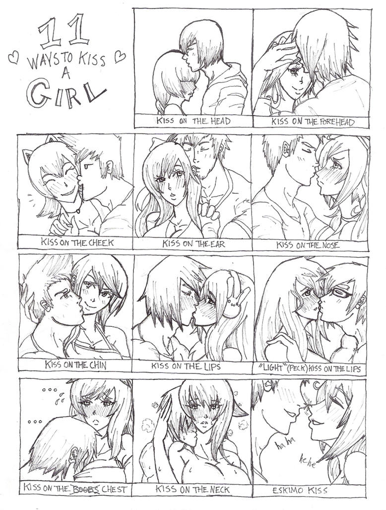 11 Ways to Kiss a Girl (Anime Style) by Xfur