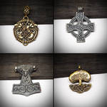 Metal pendants 2