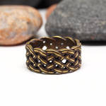 Size 10 US, Celtic knot ring by BDSart