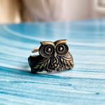 Celtic owl ring by BDSart