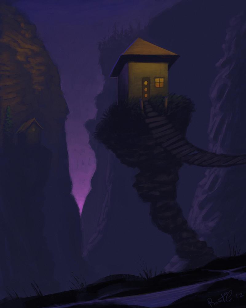 precarious by RobertCopu