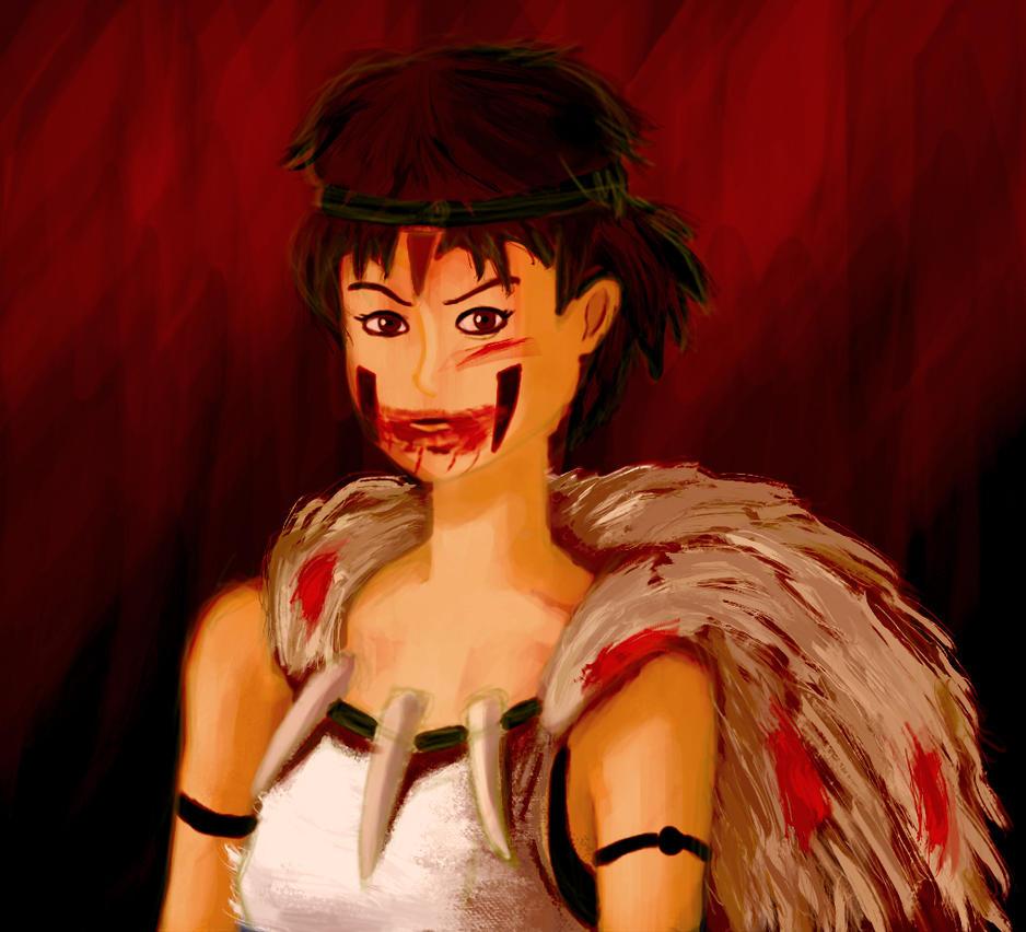 Princess Mononoke by smackpop