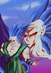 Goku Pre ssj7 y Ssj7 90's