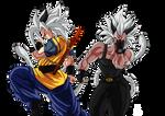Goku y Vegeta ssj9
