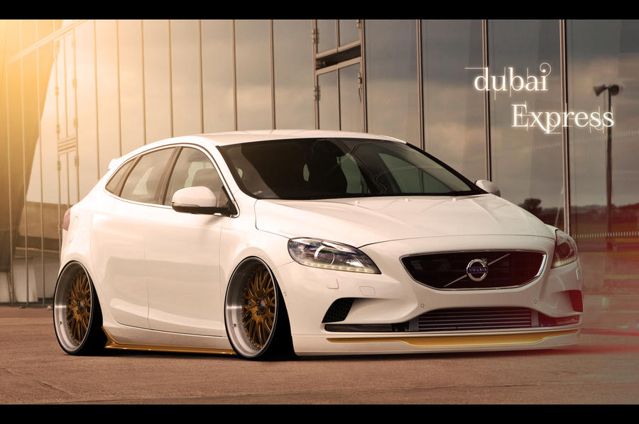 Volvo V40 - 'The Dubai Express' - 2012 by hugerth