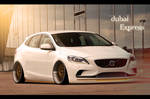 Volvo V40 - 'The Dubai Express' - 2012