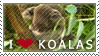 Koala Facts Stamp by Elorine