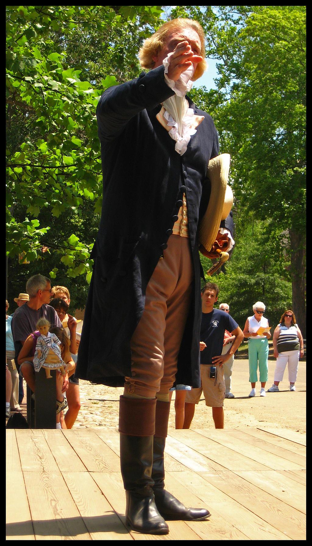 Thomas Jefferson by Elorine
