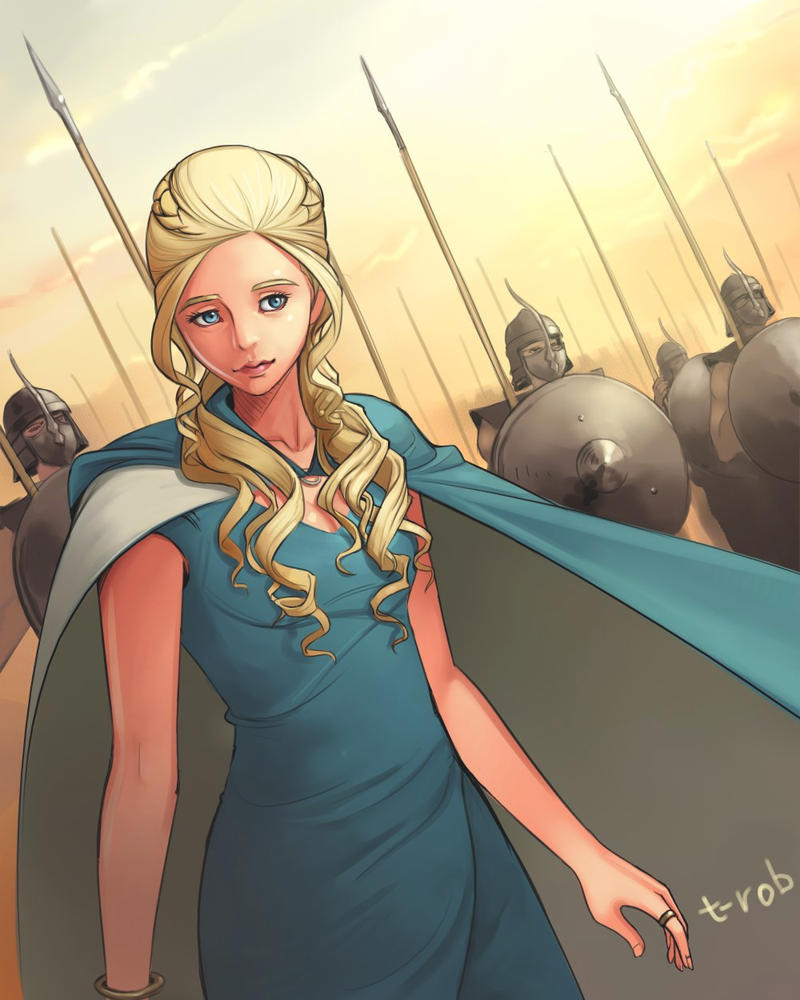 Khaleesi by t-rob