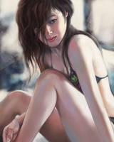 bikini girl by tman2009