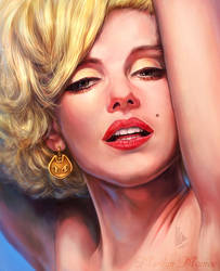 MARILYN MONROE by tman2009