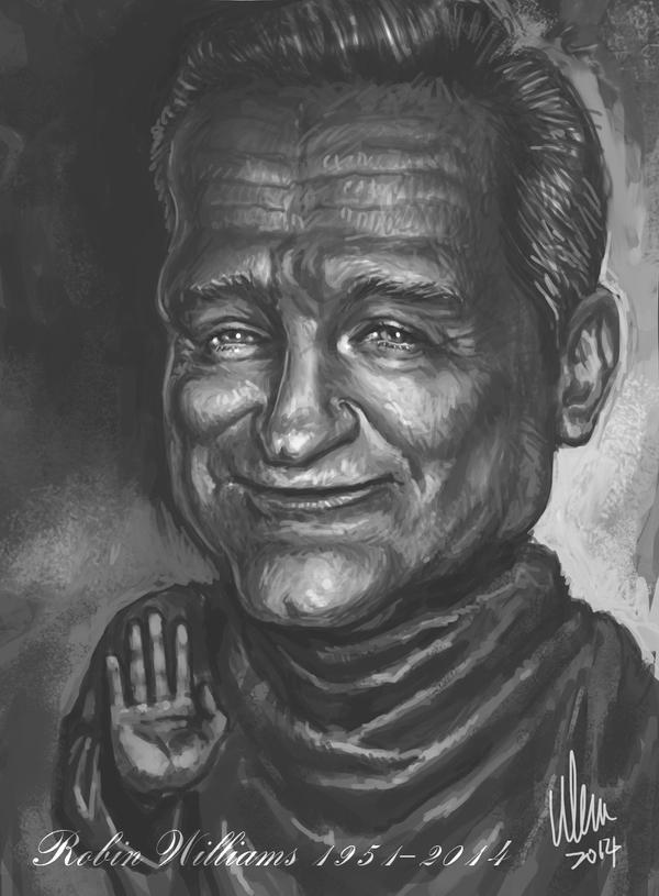 Robin Williams 1951 - 2014 by tman2009