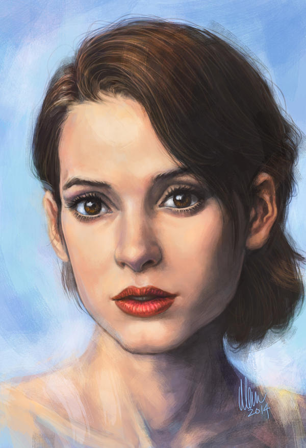 Winona Ryder by tman2009