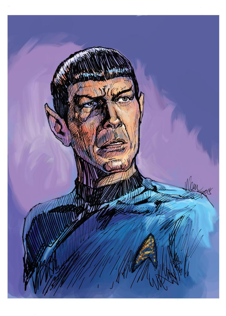 Spock by tman2009