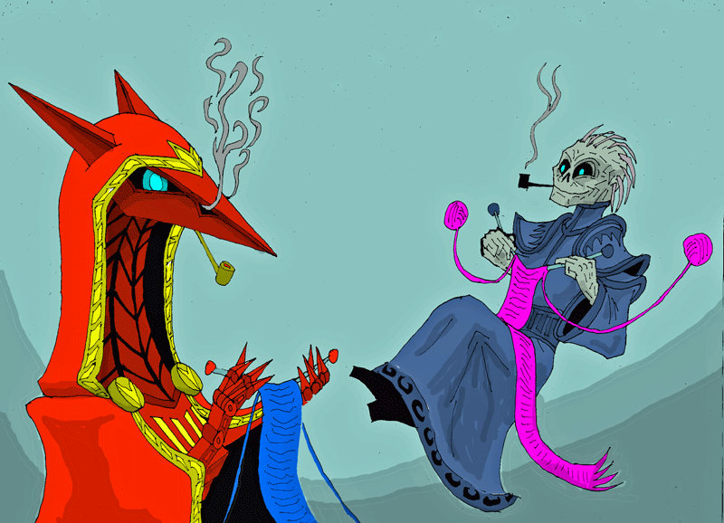 Old villains by LovgrenO