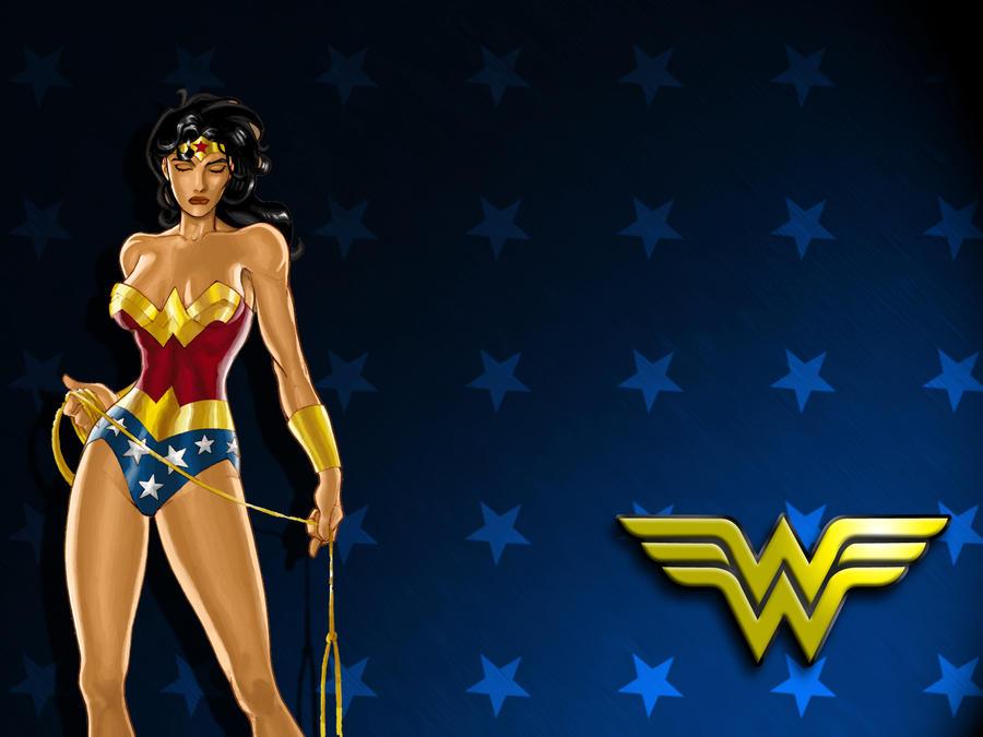 Wonder Woman Wallpaper By Lsbigbro