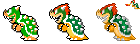 NES Bowser Recolor by BLZofOZZ