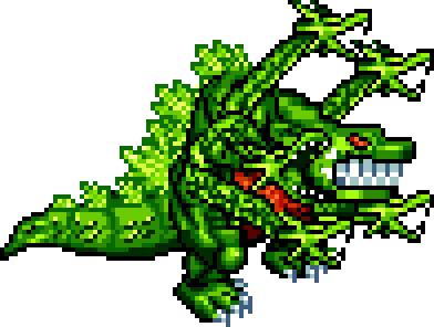 Godzilla domination sprites