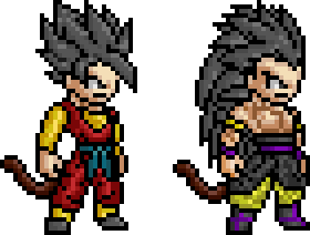 Dragon Ball Hero and Berserker by BLZofOZZ on DeviantArt