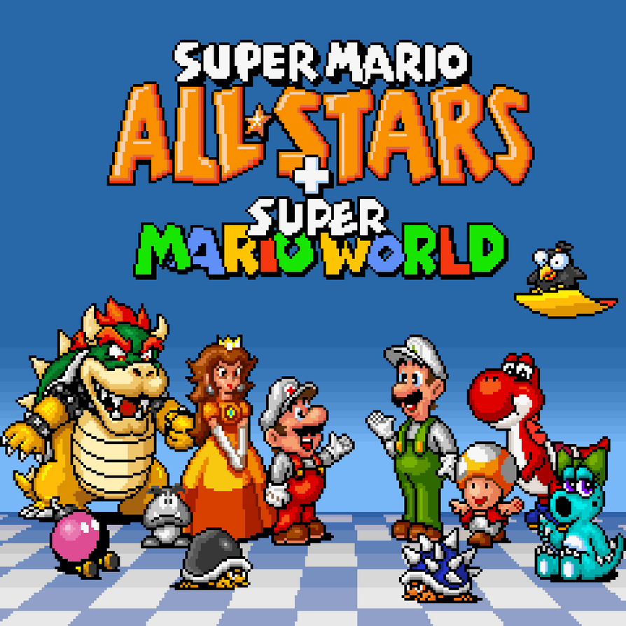 New Super Mario World 1: Super Mario World Yoshi Island Level Cross
