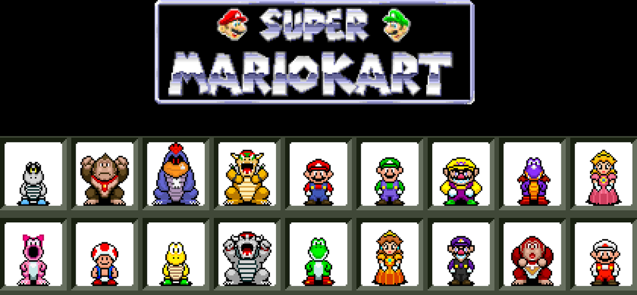 Super Mario Kart by BLZofOZZ