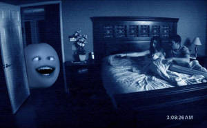 orange in paranormal activity by ninj9