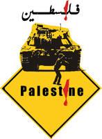 sticker palestine 3ouda by issam-zerr