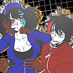 Ruko and Rook // Icon by HeiwaDerpyFapJima