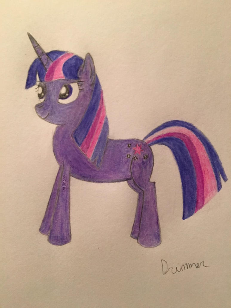 Twilight Sparkle - Colored Pencils by MLPpencilArt