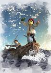 Sea Fishing with Jarek by esapesa