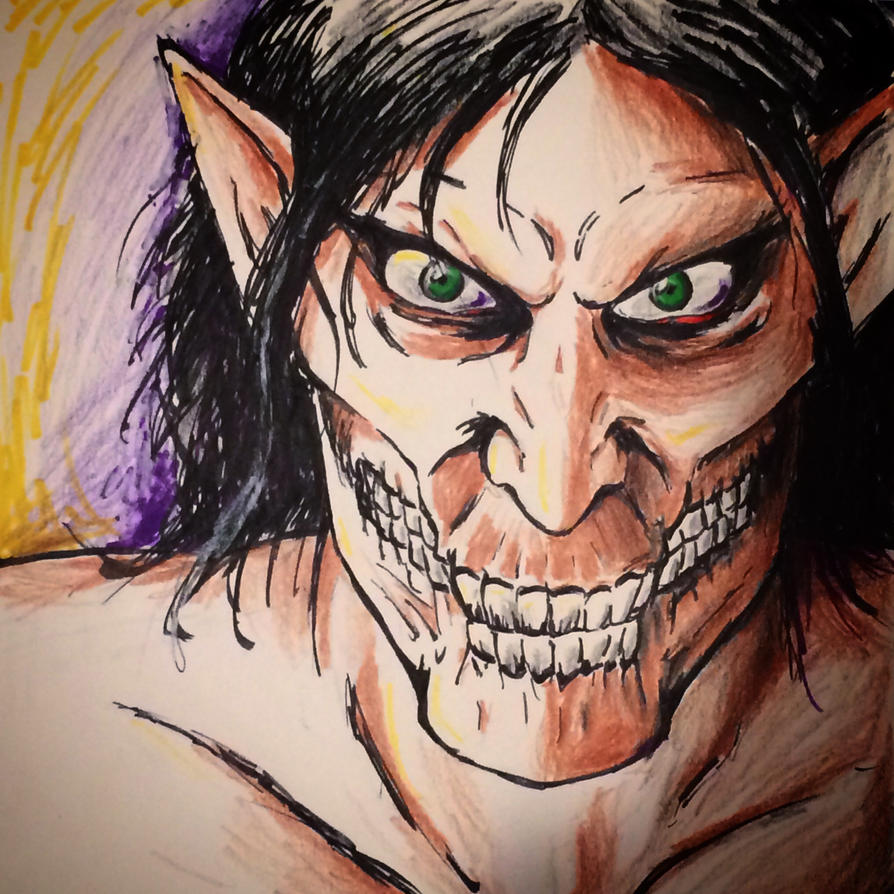 Eren Titan by cellcow