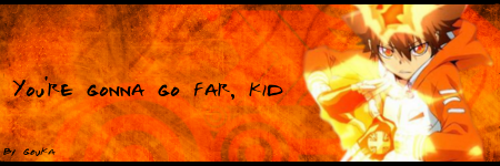 You're gonna go far, kid by Gou-chan