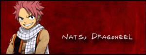 Natsu sign by Gou-chan