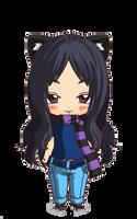 Chibi Hana by Gou-chan