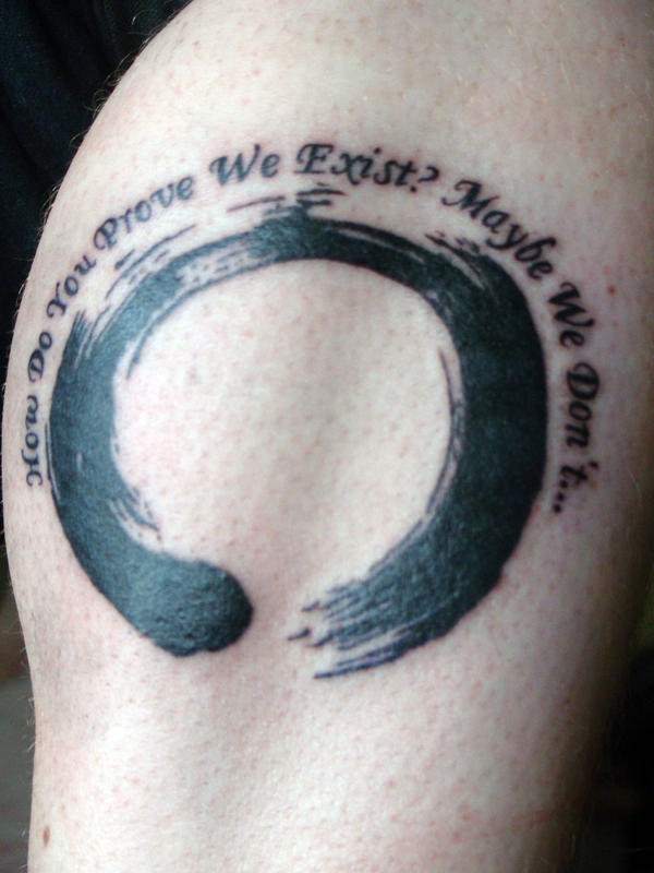 An enso. ongoing journey | Tat up | Pinterest | Watercolors, Watercolor Tattoos and Zen