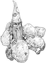 Dirty Gnome by JayPenn